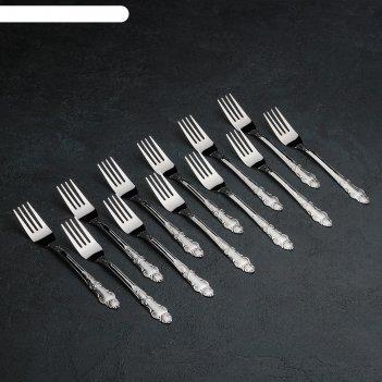 Набор вилок столовых 12 шт русиано 19 см