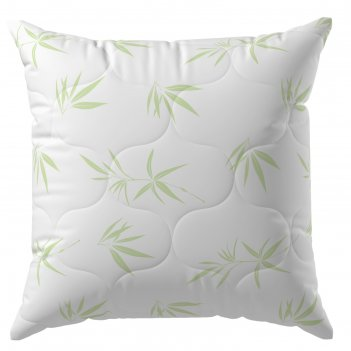 Подушка, размер 70 x 70 см, бамбук