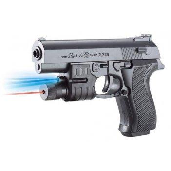 Пистолет мех., фонарь, 170мм., пакет