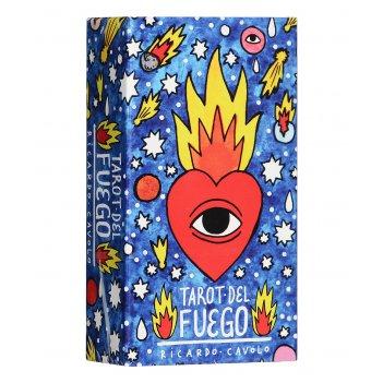 """Карты таро: """"fournier ricardo cavolo tarot del fuego"""""""