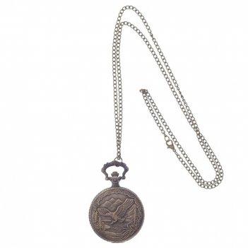 Декоративное изделие карманные часы на цепочке, l4,5 w1 h6см
