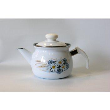 Чайник 1,0л с рисунком заварной