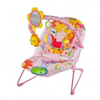 """Кресло-качалка """"милашка"""" с зеркальцем, вибрацией и музыкой"""