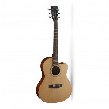 Акустическая гитара cort jade1-op jade series  с вырезом, цвет натуральный