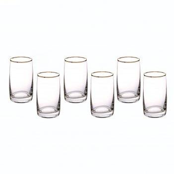 Набор стаканов для воды 250 мл 6 шт идеал