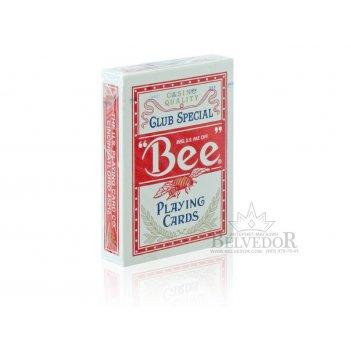 Карты покерные полупластик bee (пчела/без пчелы, standart/jumbo)