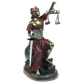 Статуэтка греческая богиня правосудия - фемида 27см