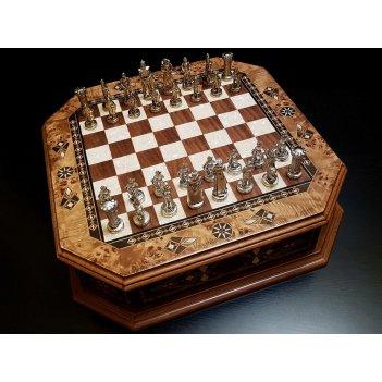 Шахматы бастион клен антик