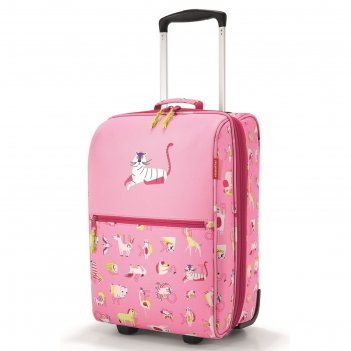 Чемодан детский trolley xs abc friends pink, водоотталкивающий полиэстер
