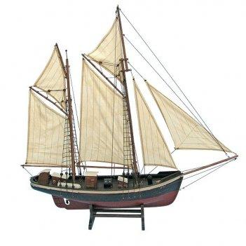 Парусник двухмачтовый, l:78cm h:78cm. арт. 530