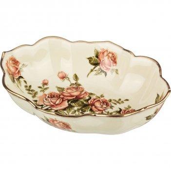 Салатник корейская роза под.упак 26*12 см (кор-2...
