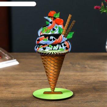 Салфетница мороженое набор 4 детали