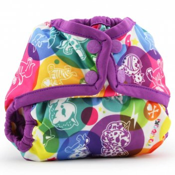 Подгузник для плавания newborn snap cover kanga care tokicorno/orchid