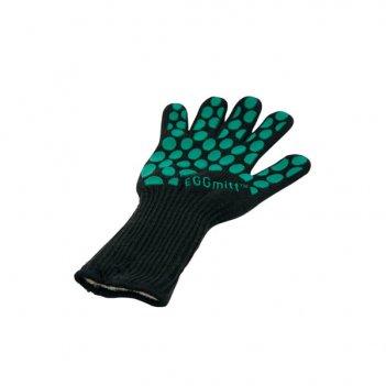 Перчатка-прихватка защитная чёрная, арамид+силикон+хлопок, bbq для сада