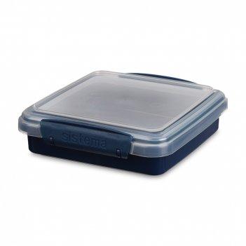 Ланч-бокс для сэндвичей, объем: 450 мл, материал: пластик, серия renew, 58
