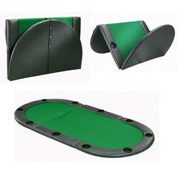 Накладка на стол прямоугольная kicker green разборная