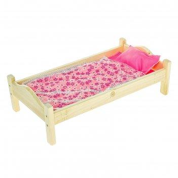 Кроватка кукольная 13