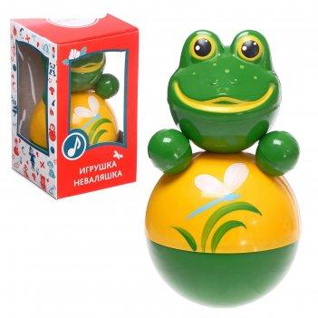 Неваляшка лягушонок в художественной упаковке, звук 6с-033