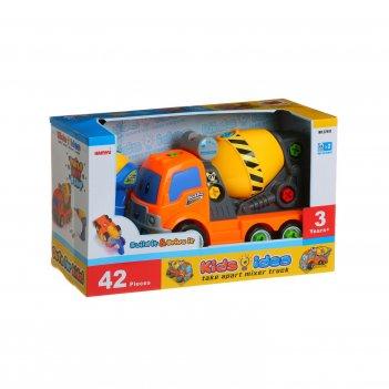Конструктор kids idea грузовик