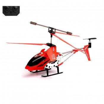 Вертолет радиоуправляемый с гироскопом, цвет красный