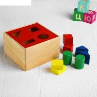 Пирамидка ящик с  формами