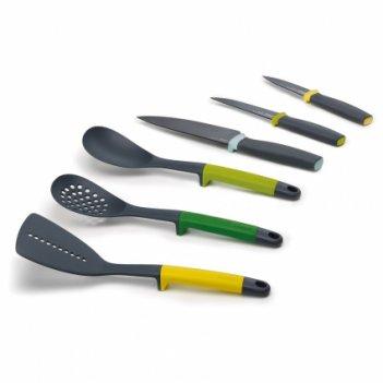 Набор из 6 кухонных инструментов и ножей elevate™