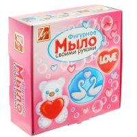 Набор для изготовления мыла мишка love 25с 1511-08