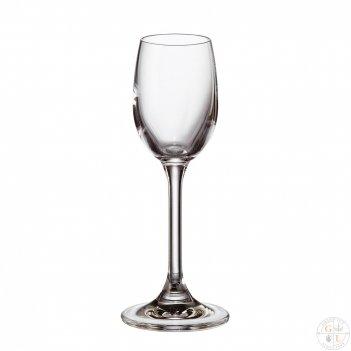 Набор рюмок для водки crystalite bohemia sylvia/klara 65 мл (6 шт)