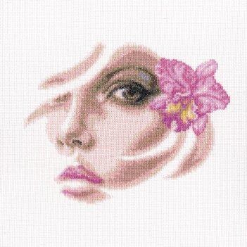 """""""тропическая орхидея"""" набор для вышивания рто"""