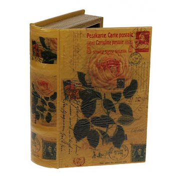 Шкатулка-фолиант розы 21*13*6см