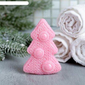 Мыло елка розовое