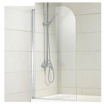 Ограждение на ванну bravat alfa bg070.5110a-1, 700 х 1500 мм, распашное, п