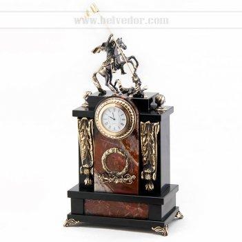 Часы георгий победоносец камень яшма