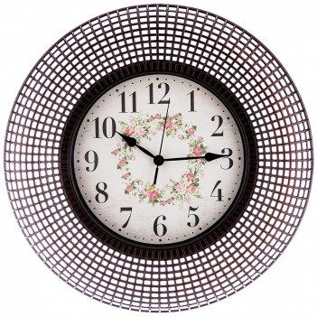 Часы настенные кварцевые italian style 50,8*50,8*5,2 см (кор=4 шт.)