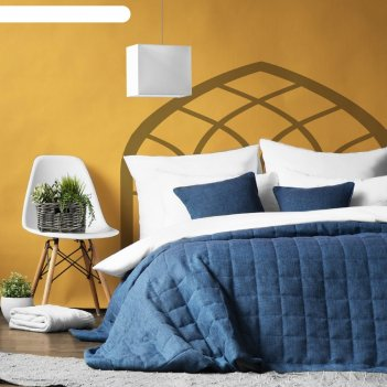 Комплект «джерри»: покрывало 230 x 250 см, наволочка 45 x 45 см-2 шт, цвет
