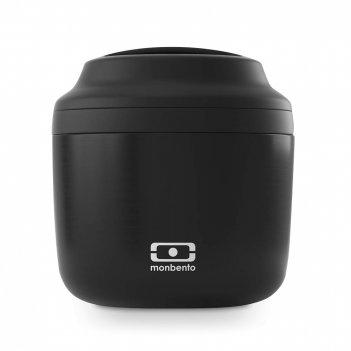 Термоконтейнер mb element black onyx, размер: 13 х 11,4 см, материал: нерж