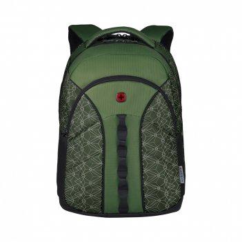 Рюкзак wenger 16'', зеленый со светоотражающим принтом, полиэсте
