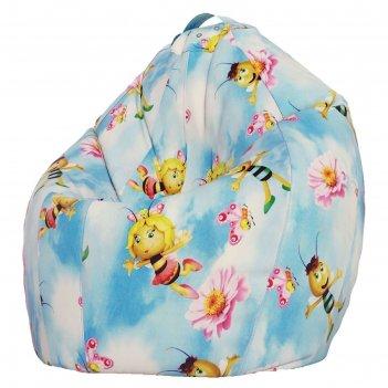 Кресло-мешок xl, ткань поплин, принт медовая фея