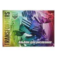Альбом д/рис а5 20л transformers на клею а5 твин уф-лак eac-tr61/2