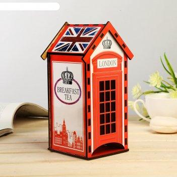 Чайный домик лондон 20х9,5х10 см