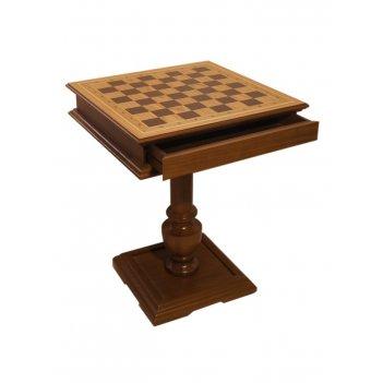 Шахматный стол эксклюзив, темный