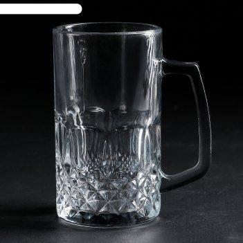 Бокал пивной 500 мл кристалл