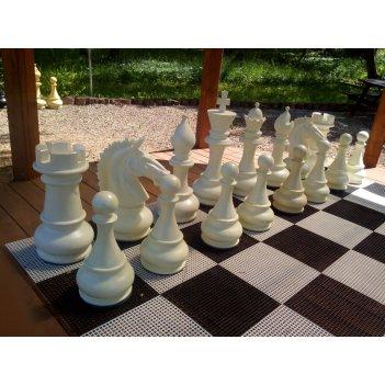 Пластиковые садовые шахматы 75см