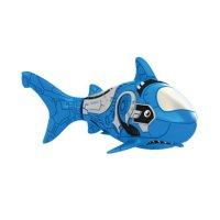 Роборыбка акула (голубая)