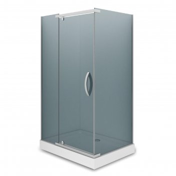 Душевое ограждение alex baitler ab244-120, 120x90x200 см, стекло тонирован