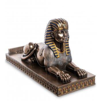 Ws-1041 держатель для бутылки египетский сфинкс