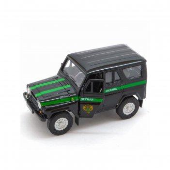 Коллекционная модель машины lada 2108 уаз 31514 «лесная охрана», масштаб 1