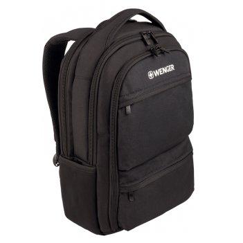 Рюкзак wenger 15.6, черный, полиэстер, 32 x 21 x 43 см, 16 л