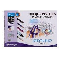 Альбом художественный для рисования и живописи 460*325 20л fabriano dibujo