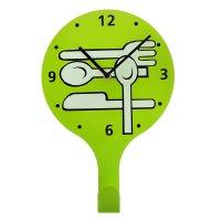 Часы настенные кухонные вилки-ложки